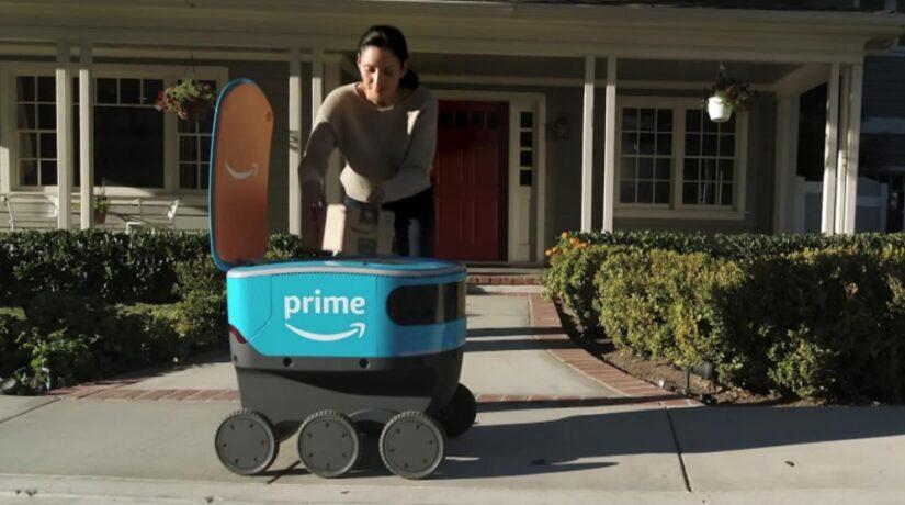 Los paquetes de Amazon podrían entregarse mediante cajas de entrega autónomas en el Reino Unido